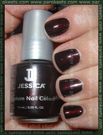 Jessica - Notorious: 2 layers + Essence topcoat