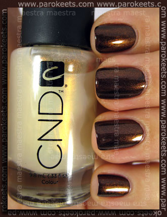 CND - Colour - Raisin In The Sun + Effect - Copper Shimmer