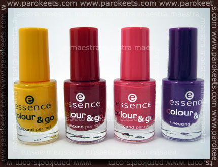 Essence - Fashionista TE: Sundancer, VIP Appeal, So Glamorous, Break Through