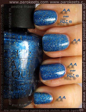 OPI - Absolutely Alice over Rival de Loop - 10