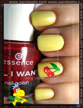 Catrice - Pastel Yellow + Fake Konad B89