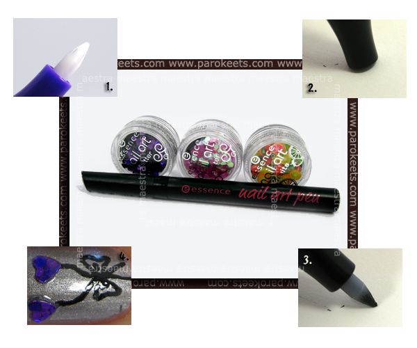 Essence - Be A Nail Artist - Glitter + Nail Art Pen