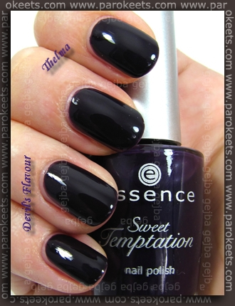 Essence: Nail Artist Twins - Thelma + Sweet Temptation - Devil's Flavour