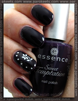 Essence: Nail Artist Twins - Thelma + Sweet Temptation - Devil's Flavour + IP Be Creative