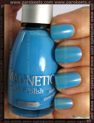 Magnetic - Blue Curacao - 2 coats - no TC