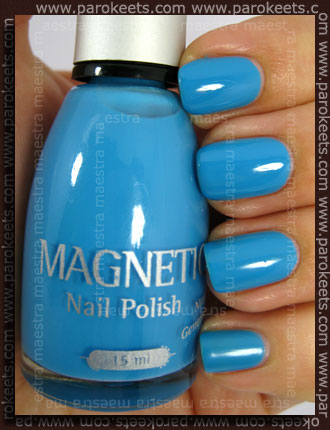 Magnetic - Blue Curacao - 3 coats with TC