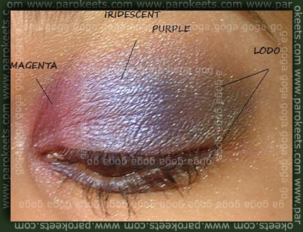 Sweetscents: Magenta, Iredescent purple, Lodo
