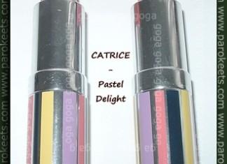 CATRICE Pastel Delight lipsticks Pink Lilac