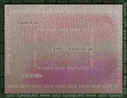 CATRICE Pastel Delight TE lipsticks Pink Lilac