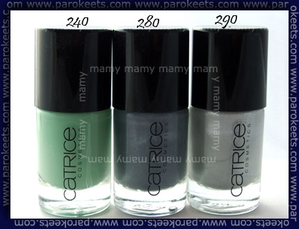 Catrice Ultimate Nail Lacquer 240,280,290
