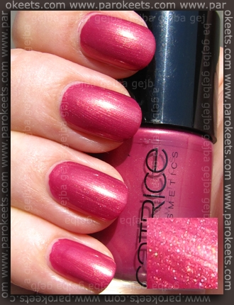 Catrice Ultimate Nail Lacquer - Big Spender Wanted! swatch