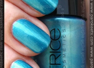 Catrice Ultimate Nail Lacquer swatch - Blue's Brother