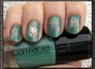 Catrice - I Sea You; Zoya Laney - Fauxnad H22; Gosh Rainbow swatch