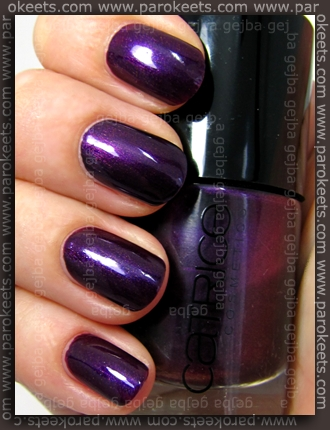 Catrice Poison Me, Poison You!, China Glaze - Let's Groove swatch and comparisonCatrice Poison Me, Poison You!, China Glaze - Let's Groove swatch and comparison