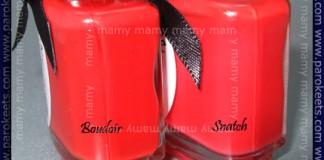 Ciate Paint Pots:Boudoir, Snatch, comparison