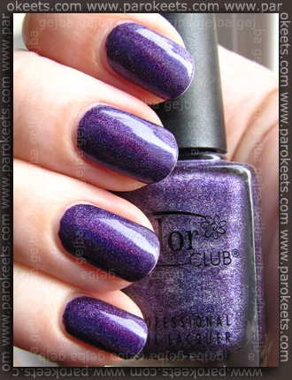 Color Club - Wild At Heart nail swatch