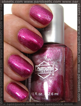 Diamond Cosmetics Sparkling Sherry swatch