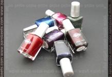 Diamond Cosmetics polishes