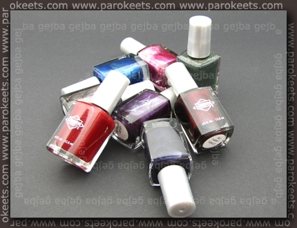 Diamond Cosmetics polishes