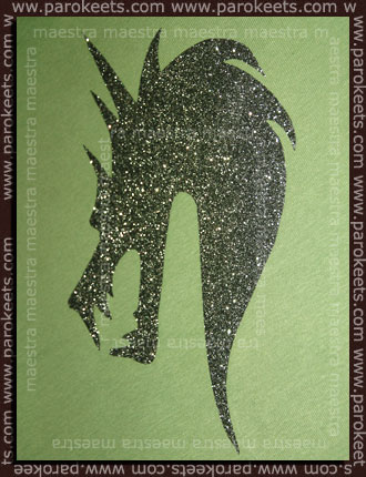 Do It Yourself - Glitter Iron-on Foil