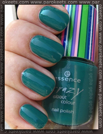 Essence- Crazy About Colour - Crazy Me swatch