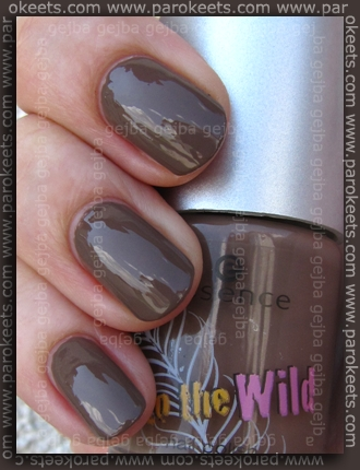 Essence Into The Wild - Desert Fox swatch