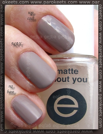 Essence Into The Wild - Zulu swatch