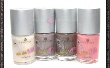 Essence - Into The Wild nail polishes