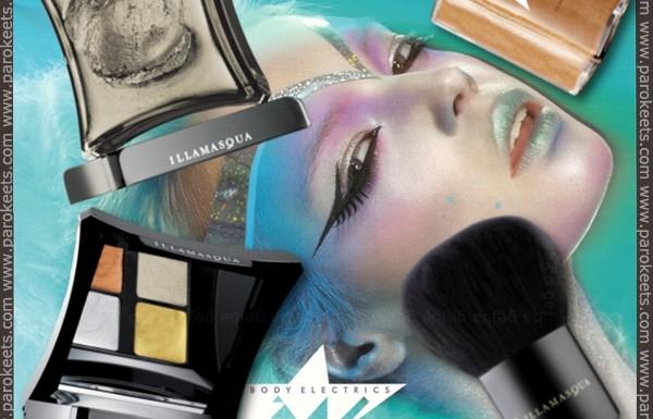 Illamasqua - Body Electrics promo
