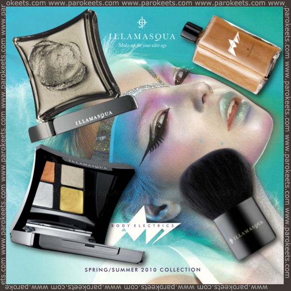 Illamasqua - Body Electrics promo