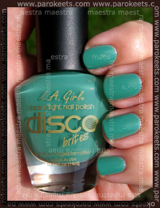 Swatch: L.A. Girl - Disco Brites - Turntable