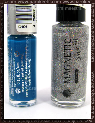 Bottle: Magnetic - Stripe It - Hologram vs. Essence tip painter - Ocean Breeze