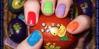 Velikonocna manikura