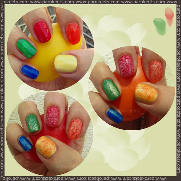 Easter manicure, velikonočna manikura