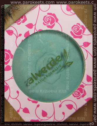 Swatch: Alverde Rose Garden LE - 309 Rose Garden eyeshadow