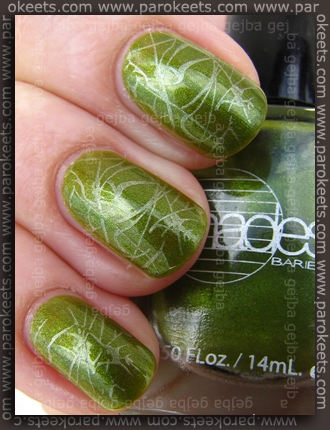 Konadicure: Barielle Polished Princess + Zoya Laney + fauxnad m70