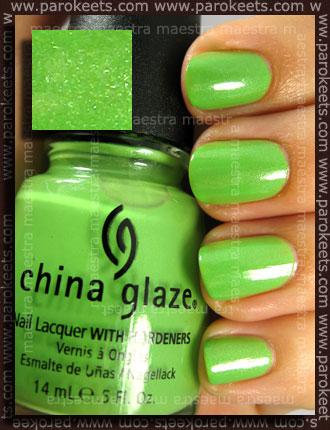 Swatch: China Glaze - Entourage