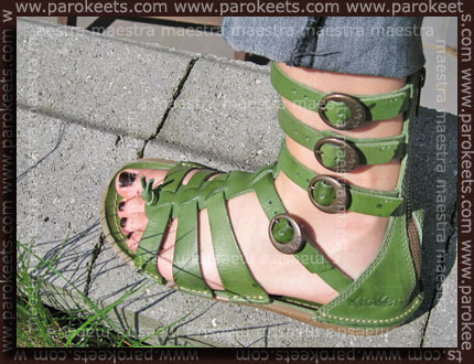 Swatch: Deborah - SenseTech 100% Mat - 05 + Kickers gladiator shoes