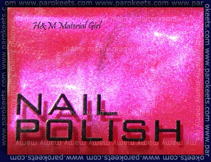 H&M - Material Girl