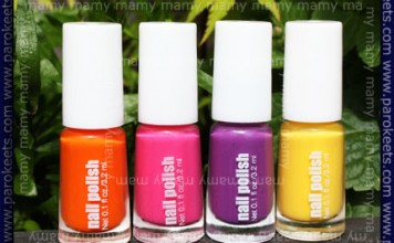 H&M, Summer Nails, neon