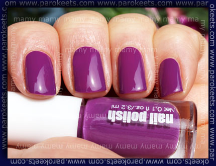 H&M - Summer Nails, Neon Lilac, sun