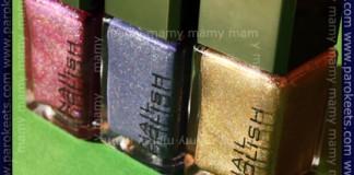H&M holo nail polishes, bottles