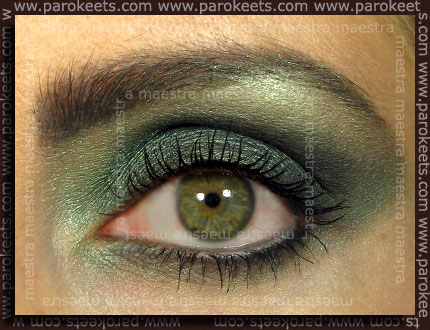 Swatch: Illamasqua Noir inspired look
