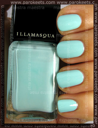 Swatch: Illamasqua - Pastel Nails - Nudge