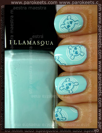 Konadicure: Illamasqua - Pastel Nails - Nudge