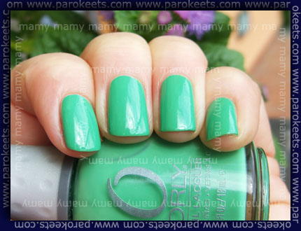 Orly: Mint Mojito, swatch