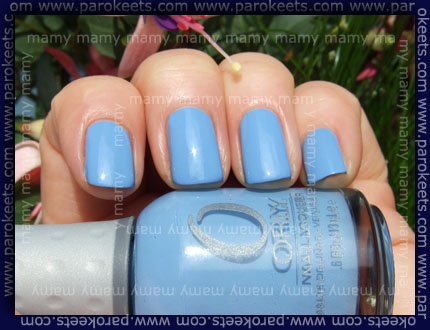 Orly: Snowcone, swatch