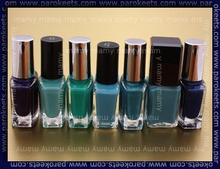 P2, H&M, blue
