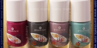 Essence - Surfer Babe polishes