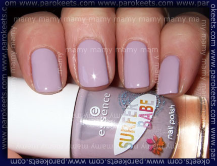 Essence - Surfer Babe - Hang Loose swatch